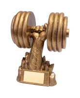 Power Weight Lifting Trophy