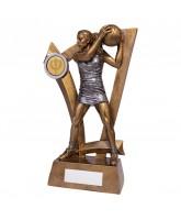 Predator Netball Player Trophy