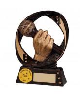 Typhoon Microphone Singing Trophy