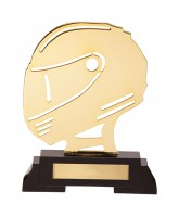 Arcadia Motorsports Helmet Trophy