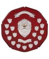 English Rose Rosewood 17 Year Annual Shield