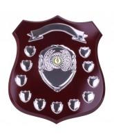 Illustrious Mahogany Wooden 11 Year Annual Shield