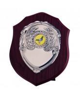 Vanquish Mahogany Logo Insert Shield