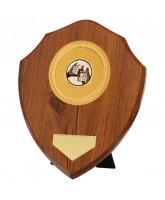 Wexford Walnut Logo Insert Shield
