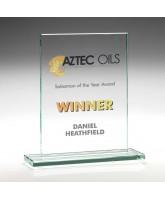Atom Jade Glass Award Printed Full Colour