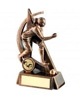 Bowls Female Player Logo Trophy