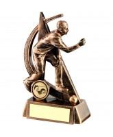 Bowls Male Player Logo Trophy