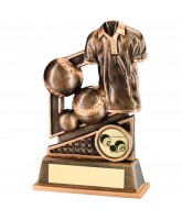 Bowls Shirt Logo Trophy