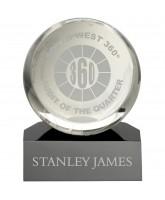 Core Clear and Black Globe Award