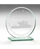 Disc Jade Glass Award