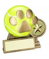 Dog Show 3D Tennis Ball Trophy