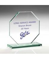 Europa Jade Glass Award Printed Full Colour