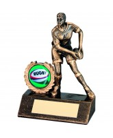 Female Rugby Player Trophy