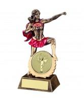 Female Super Hero Logo Insert Award