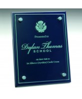 Geneva Glass Wall Hanging Plaque Engraved