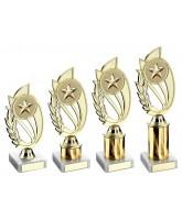 Gold Star Logo Insert Trophy