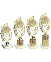 Gold Victory Logo Insert Trophy