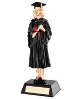 Graduation Female Trophy