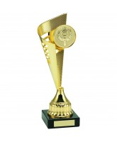 Grand Gold Victory Logo Insert Trophy