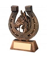 Horse Shoe Equestrian Trophy