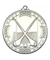 Hurling Gaelic Silver Medal