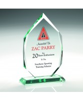 Leo Jade Glass Award Printed Full Colour