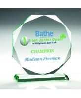 Libra Jade Glass Award Printed Full Colour
