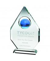 Magellan 3D Crystal Blue Globe Award