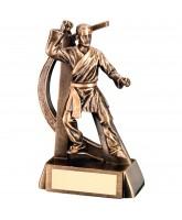 Martial Arts Resin Trophy