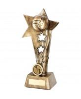 Netball 3D Star Trophy