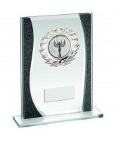 Night Sky Jade Crystal Logo Insert Award