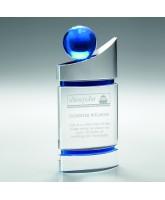 Pizarro 3D Crystal Blue Globe Award