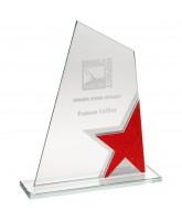 Red Star Jade Silver Crystal Award