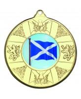 Scottish Logo Insert Gold Medal