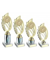 Silver Victory Logo Insert Trophy