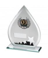 Spectrum Jade Crystal Star Logo Insert Award