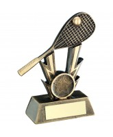 Squash Lightning Logo Insert Trophy