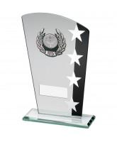 Starburst Jade Crystal Star Logo Insert Award