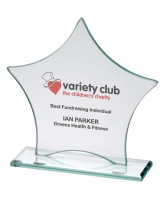 Stardust Jade Value Glass Star Award Printed Full Colour