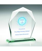 Taurus Jade Glass Award Printed Full Colour