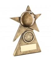 Ten Pin Bowling Inspire Logo Trophy